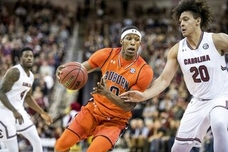 Auburn South Carolina Basketball