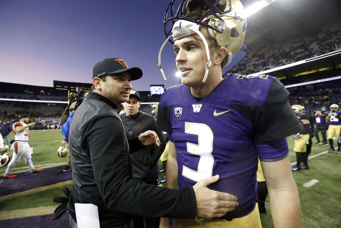 Washington's Jake Browning has chance to cap stellar career