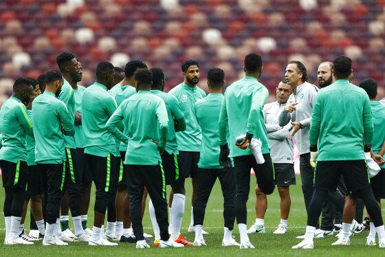 Russia Soccer WCup Saudi Arabia
