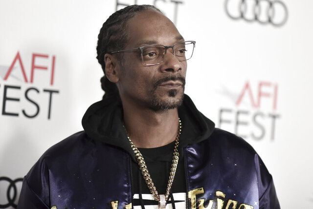 FILE - In this Nov. 14, 2019, file photo, Snoop Dogg attends 2019 AFI Fest opening night premiere of
