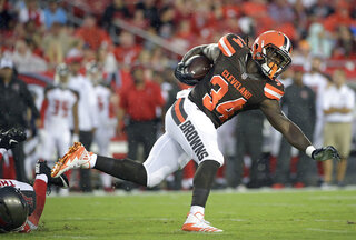Browns Crowells Wish Football