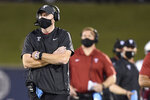 Temple head coach Rod Carey looks on during an NCAA football game against Navy on Saturday, Oct. 10, 2020, in Annapolis, Md. (AP Photo/Gail Burton)