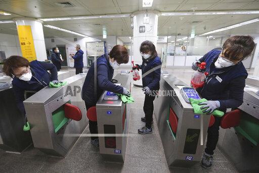 APTOPIX South Korea China Outbreak