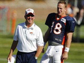 John Fox, Peyton Manning