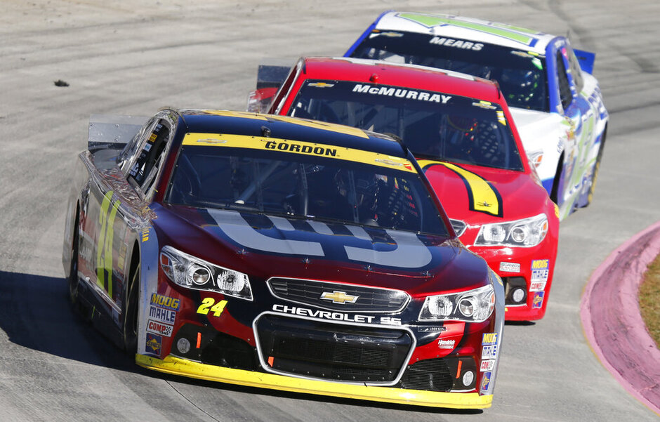 Jeff Gordon, Jamie McMurray, Casey Mears