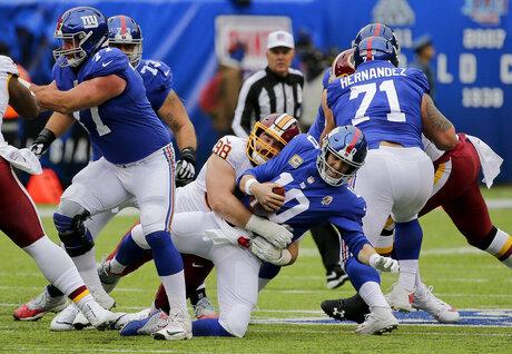 APTOPIX Redskins Giants Football