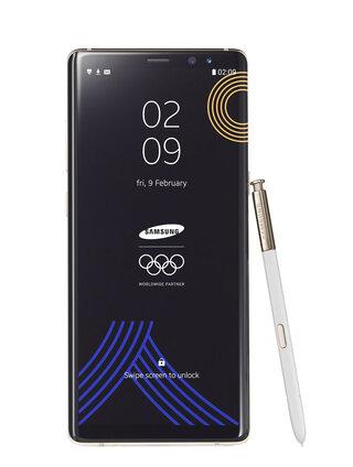 Koreas Olympics Samsung Phone