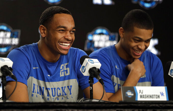 Status unclear for injured Kentucky star PJ Washington