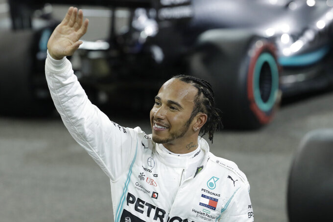 Hamilton says he's flattered by Ferrari's praise