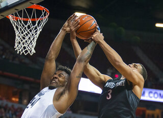 MWC San Diego St Nevada Basketball