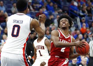 SEC Alabama Auburn Basketball