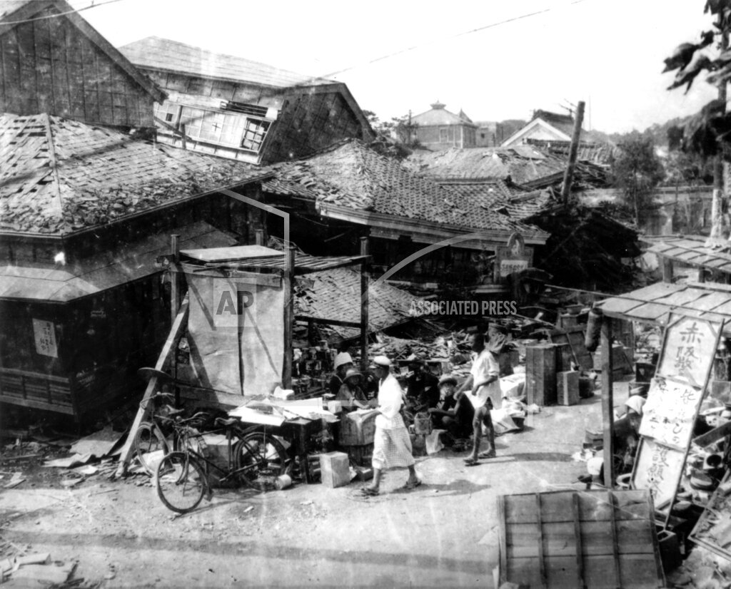 Associated Press International News Japan EARTHQUAKE 1923 TOKYO