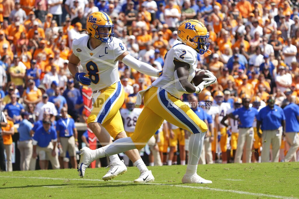 NCAA Football 2021: Pitt vs Tennessee SEP 11