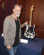 FILE - Musician Eddie Van Halen poses with his