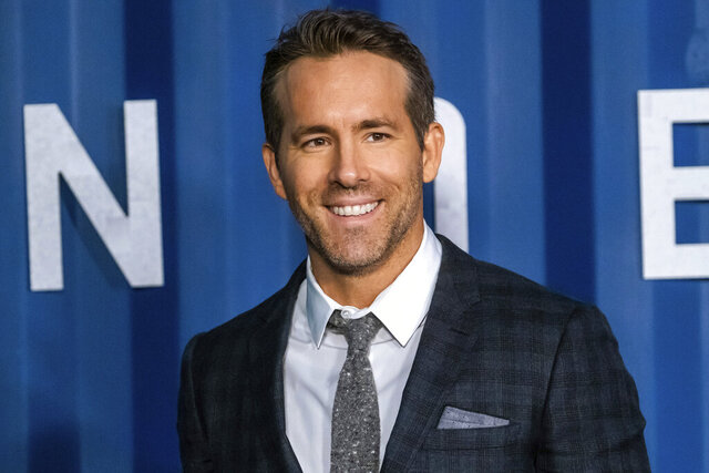 Ryan Reynolds attends the premiere of Netflix's
