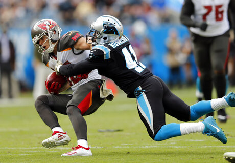 Buccaneers Panthers Football