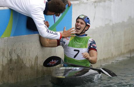 Rio Olympics Canoe Slalom Men