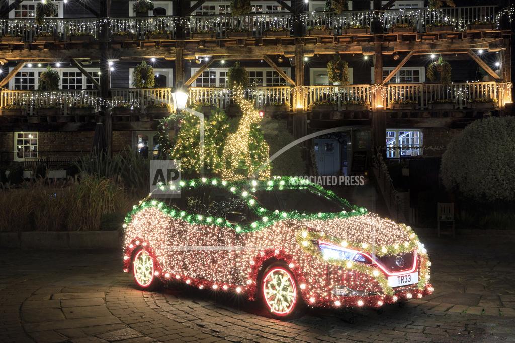 Nissan LEAF Regenerative Energy Christmas Tree