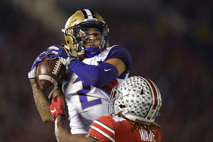 Washington's slow start in Rose Bowl is familiar, unwelcome