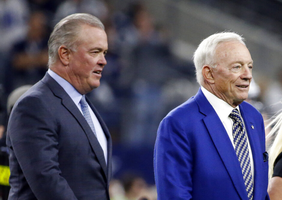 Stephen Jones, Jerry Jones,