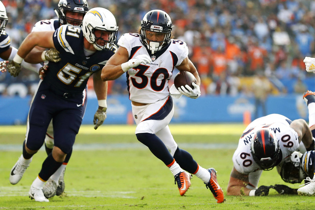 Broncos rookie running back Lindsay needs surgery