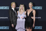 Nicole Kidman, from left, Margot Robbie, and Charlize Theron attend the premiere of