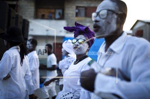 APTOPIX Haiti Festival of the Dead Photo Gallery