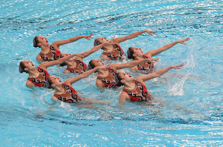 Indonesia Asian Games Synchronized Swimming