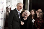 Clint Eastwood, left, and Barbara Jewell attend 2019 AFI Fest -