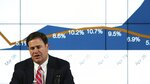 Arizona Gov. Doug Ducey speaks about about the state's most recent coronavirus data during a news conference Thursday, May 28, 2020, in Phoenix. (AP Photo/Ross D. Franklin, Pool)