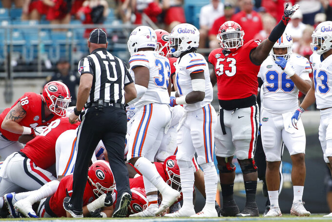 Georgia back on track, ready for SEC East showdown vs Cats