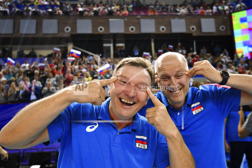Russia Volleyball 2020 Olympic Qualifiers Russia - South Korea