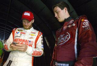 Dale Earnhardt Jr., Alex Bowman