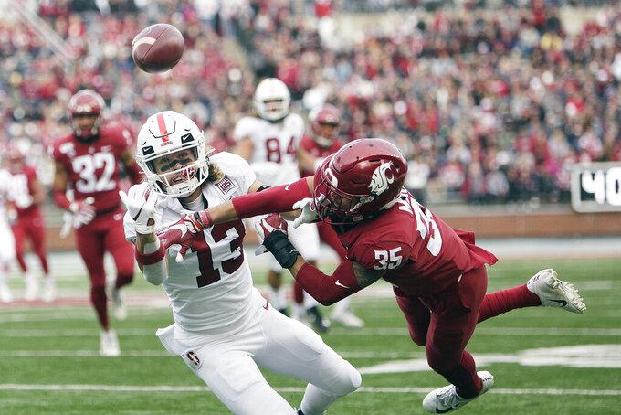 Gordon leads Washington State over Stanford 49-22
