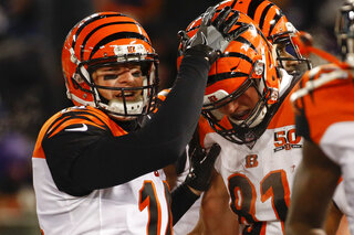Andy Dalton, Tyler Kroft