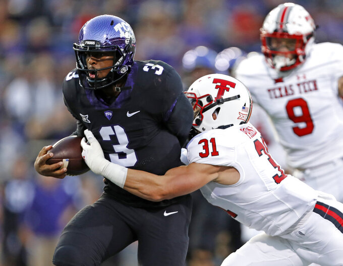 Texas Tech at TCU 10/11/2018