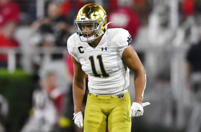 Safety picked Notre Dame over USC because he found a bond