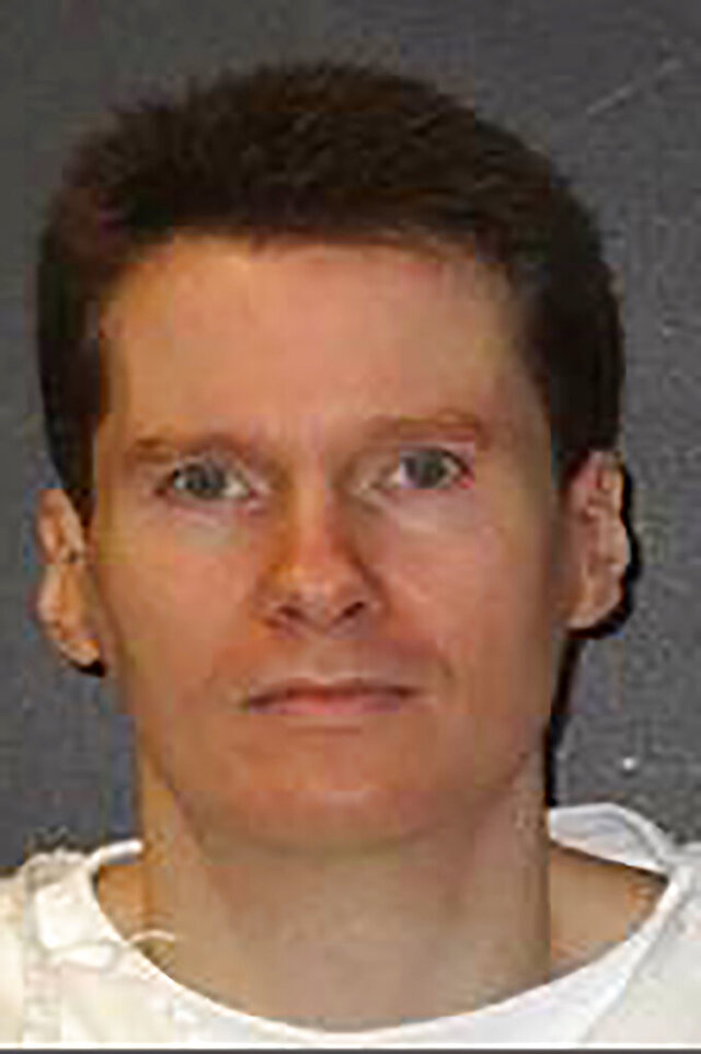 This undated photo provided by the Texas Department of Criminal Justice shows Billy Joe Wardlow. Wardlow is scheduled to be executed Wednesday, July 8, 2020. A five-month delay in executions in Texas due to the coronavirus pandemic is set to come to an end with the scheduled lethal injection of Wardlow, condemned for fatally shooting an 82-year-old man nearly three decades ago. (Texas Department of Criminal Justice via AP)