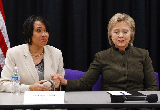 Hillary Clinton, Karen Weaver