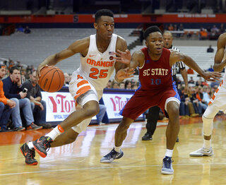 S Carolina St Syracuse Basketball