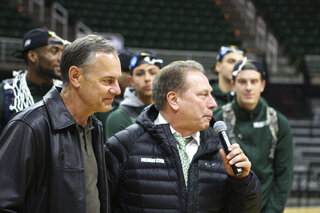 Final Four Izzo Football Fascination Basketball