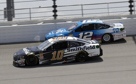 Aric Almirola, Ryan Blaney