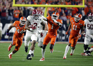 Sugar Bowl Alabama Clemson Glance Football