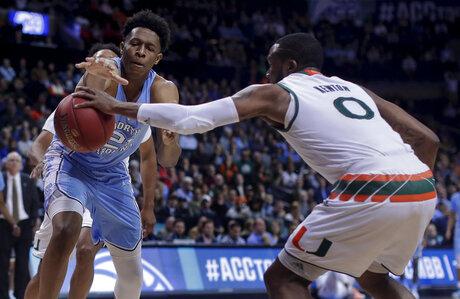 ACC North Carolina Miami Basketball