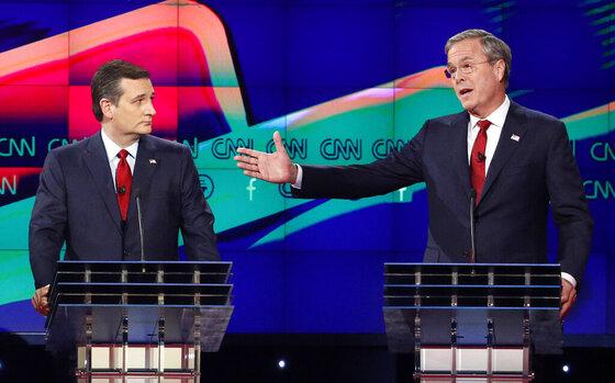 Ted Cruz, Jeb Bush