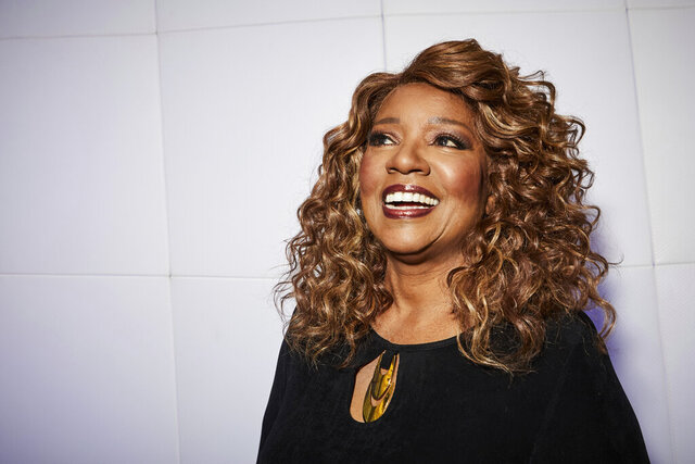 "This Dec. 18, 2019 photo shows singer Gloria Gaynor posing for a portrait in New York. Gaynor, who had the iconic disco hit song ""I Will Survive"" in 1980, is nominated for Grammy Awards for best roots gospel album for"