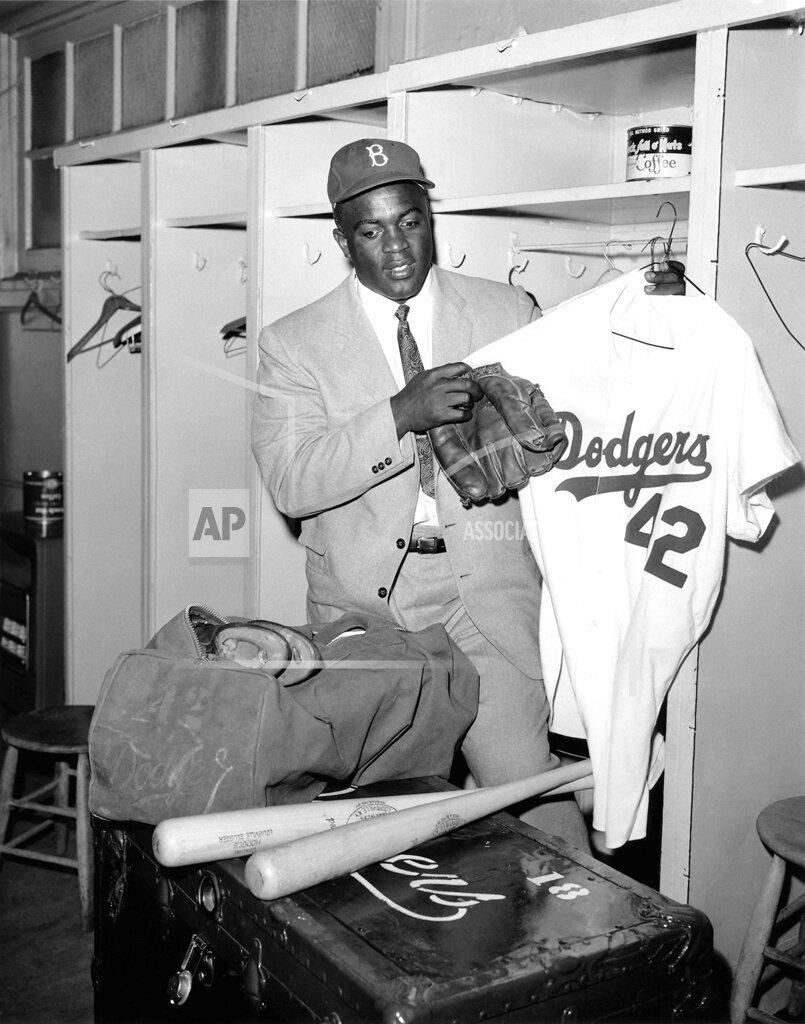 Watchf Associated Press Sports Professional Baseball (National League) New York United States APHS50636 Jackie Robinson