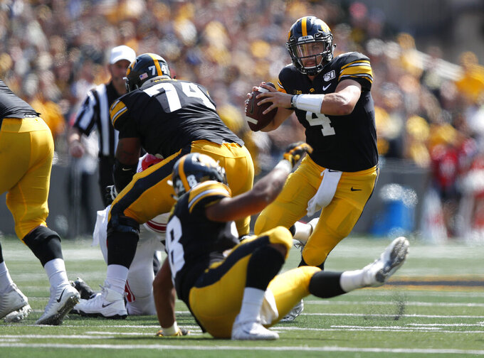 Iowa seeking 4-0 starts vs. Middle Tennessee
