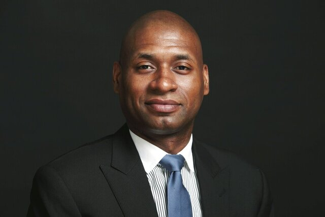 """This 2010 photo shows New York Times columnist Charles M. Blow, who is working on a book """"The Devil You Know: A Black Power Manifesto."""" The book will be published in February, Harper announced Wednesday, July 8, 2020. Blow will combine political history and personal reflections for a """"race book"""" he felt compelled to take on amid the coronavirus pandemic and Black Lives Matters protests. Blow, 49, has been a Times Op-Ed columnist since 2008. He is also the author of """"Fire Shut Up in My Bones,"""" a memoir released in 2014. (The New York Times via AP)"""