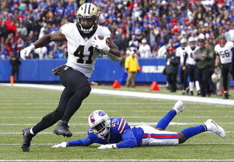 Saints-Good Kamara Football